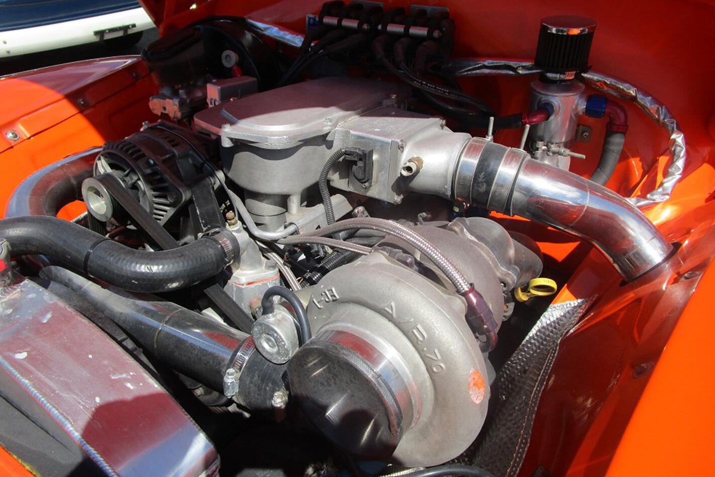 Holden FX engine bay
