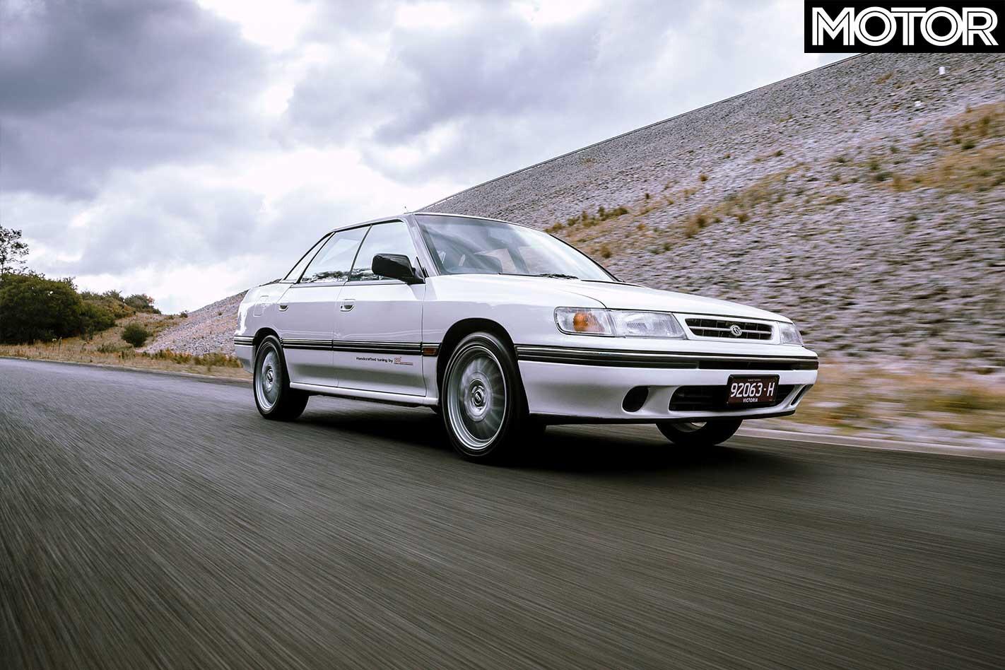1990 Subaru Legacy RS RA Front Jpg