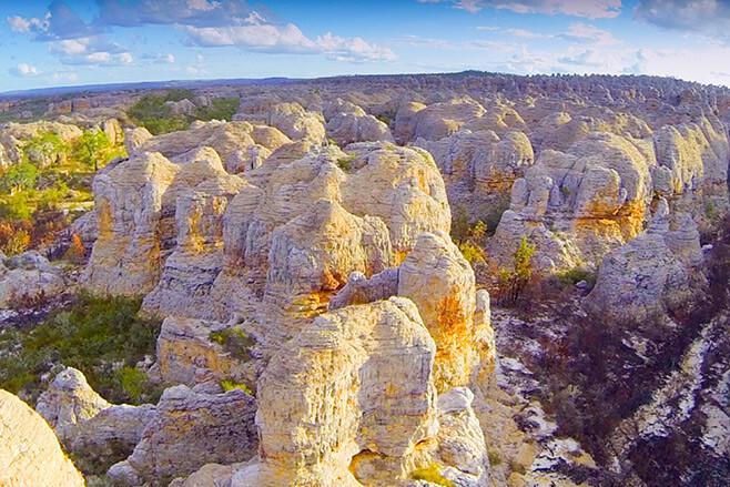 Ngukkur-and-The-Ruin-City,-Northern-Territory-pillars