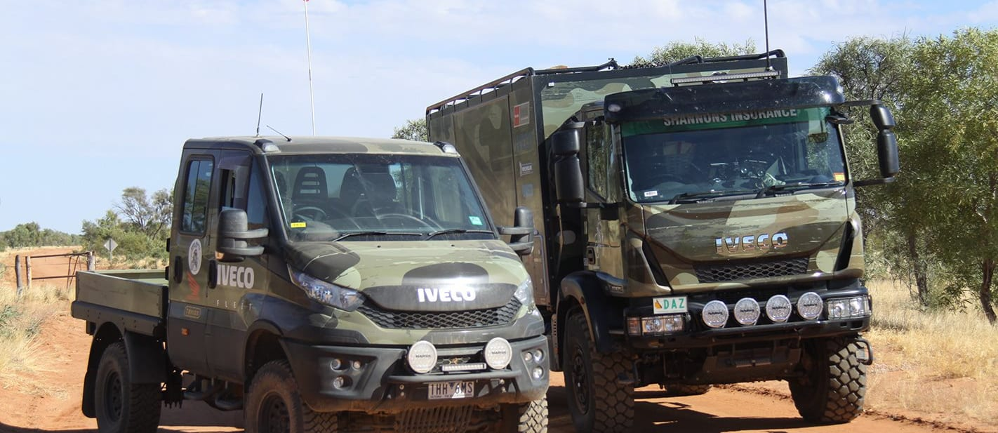 IVECO Daily 4x4 Dual Cab Chassis