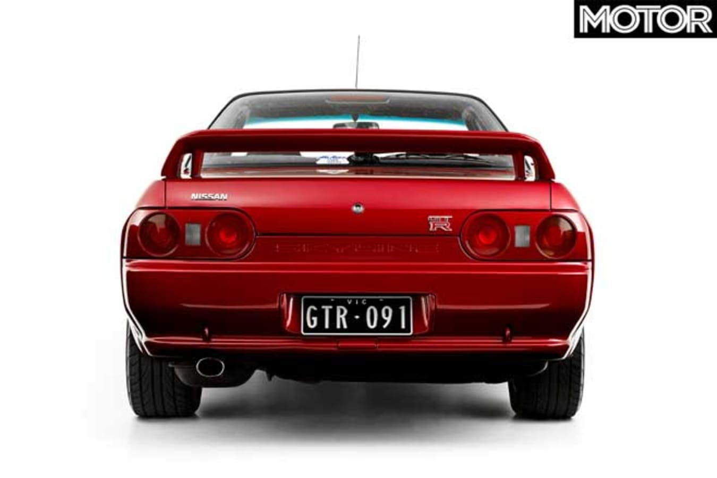 1991 Nissan R 32 Skyline GT R Tail Jpg