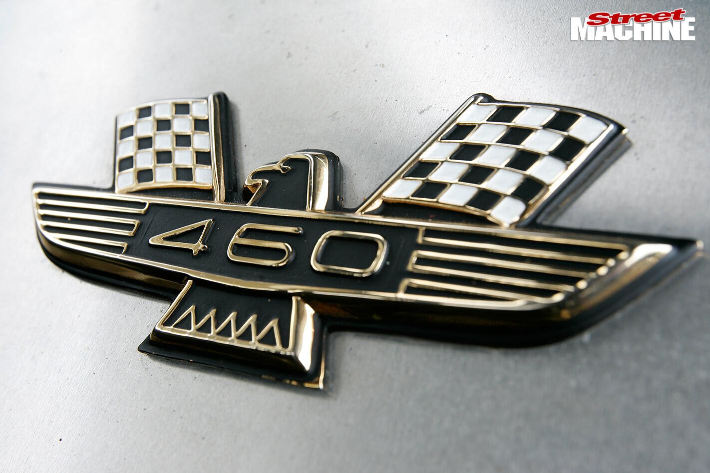 Ford Galaxie XL500 badge