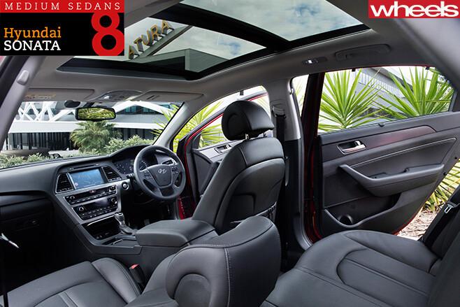 Hyundai -Sonata -interior