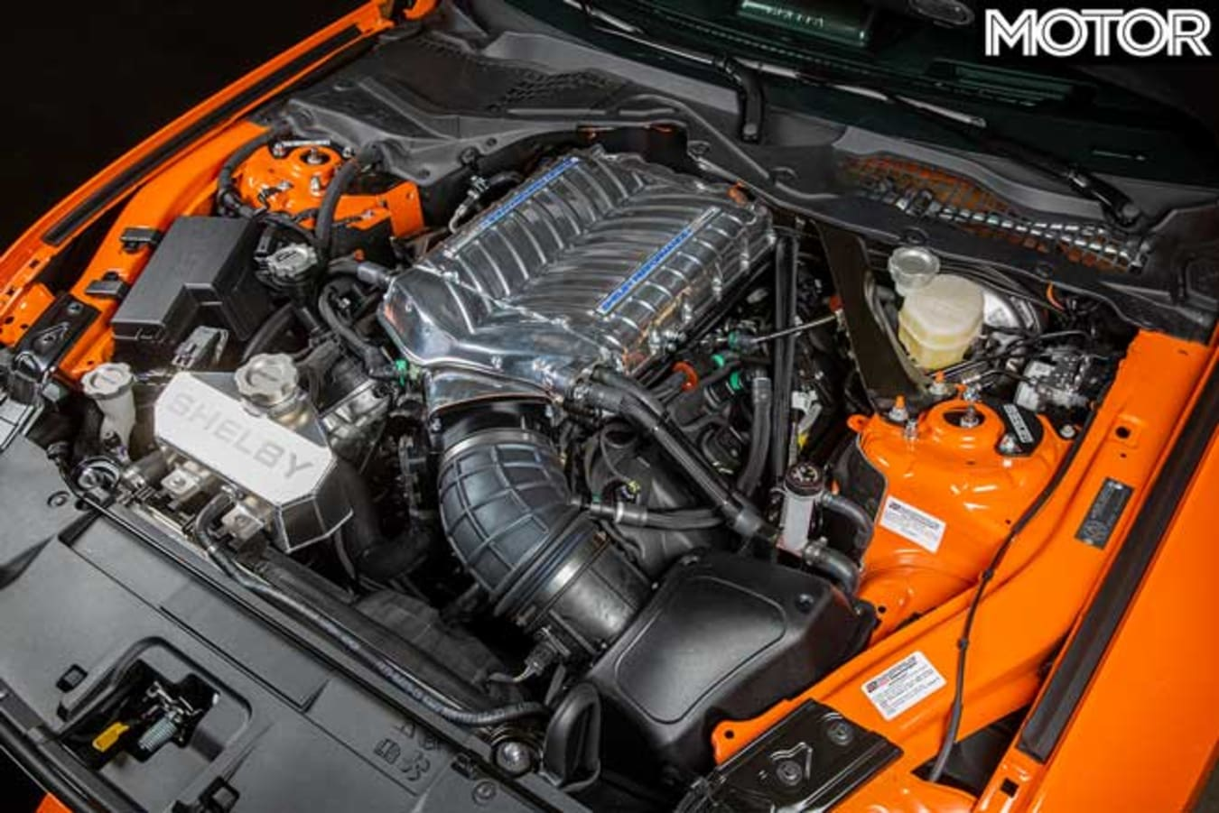 Carroll Shelby Signature Series Ford Mustang Engine Jpg