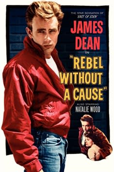 Rebel Without A Cause 1955 Cover
