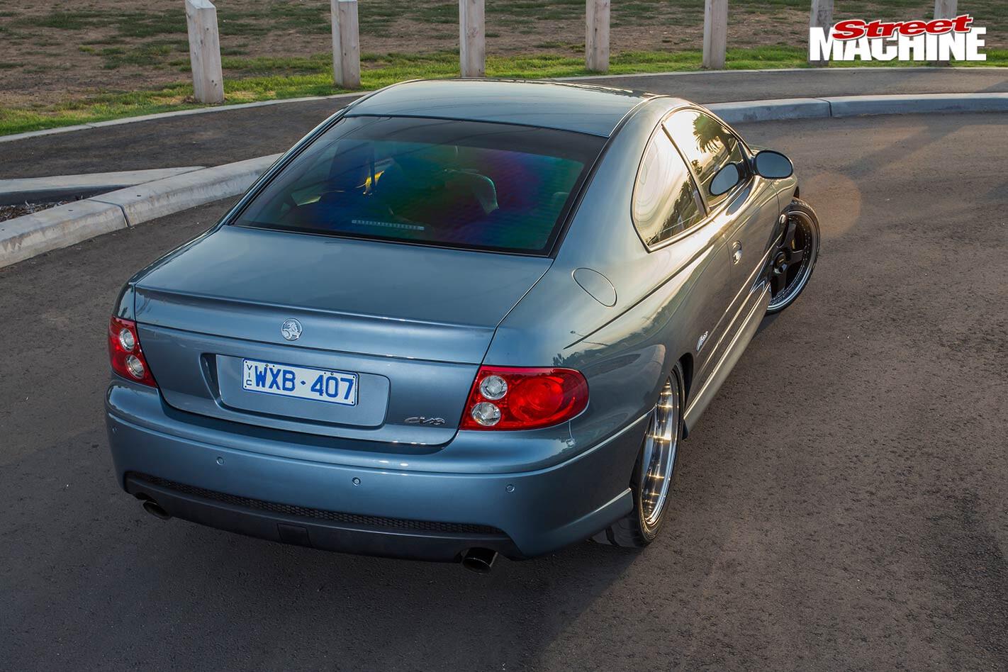 Holden VZ Monaro rear