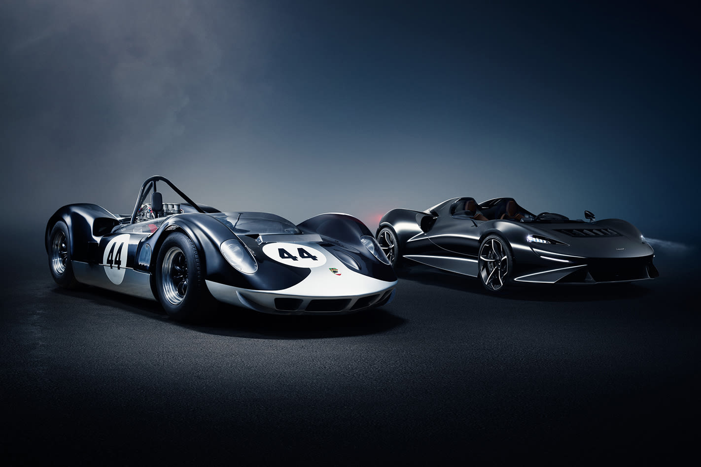 McLaren Elva old and new