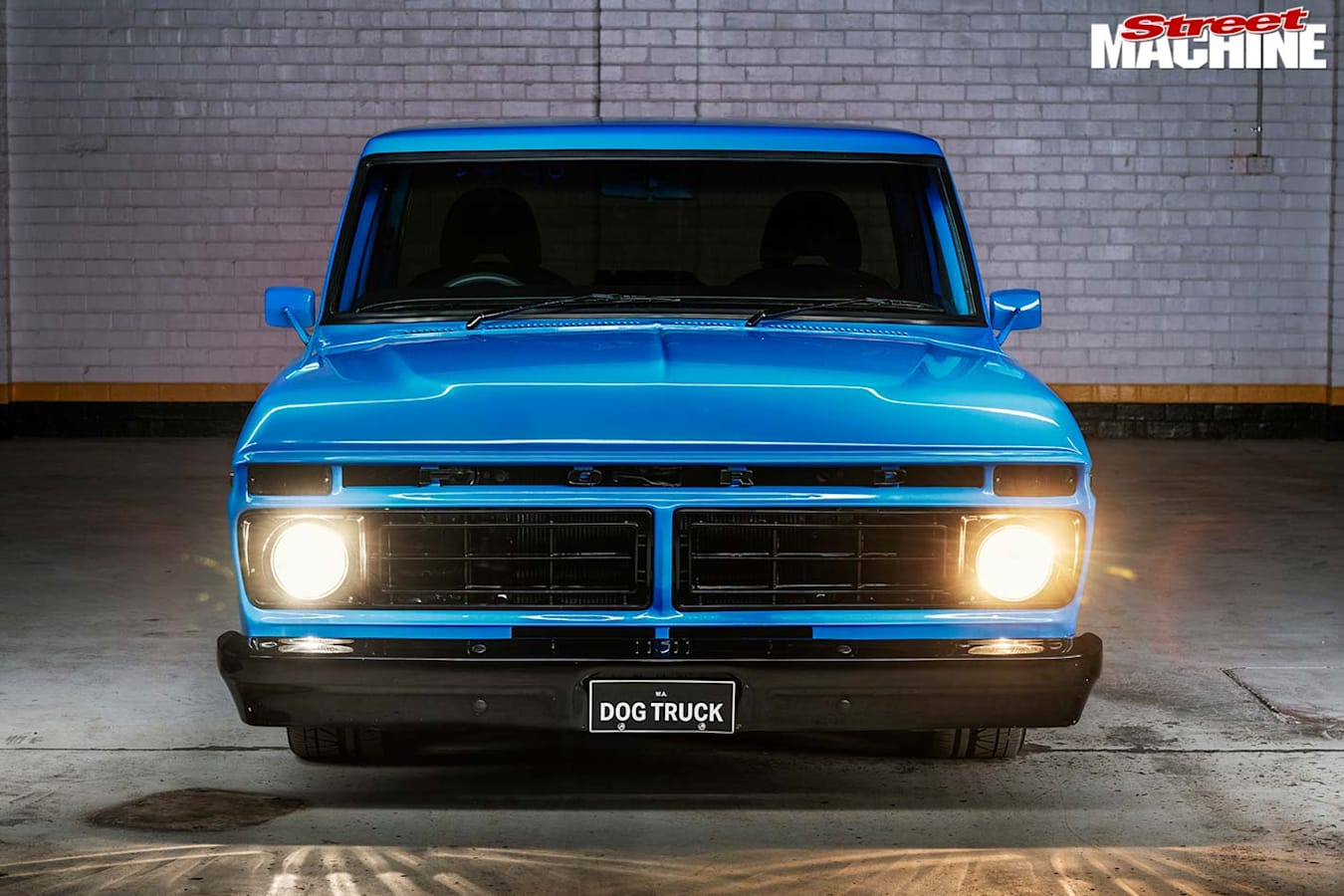 Ford F100 front