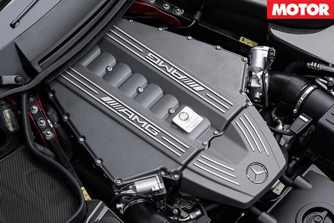 Amg -v 8-engine