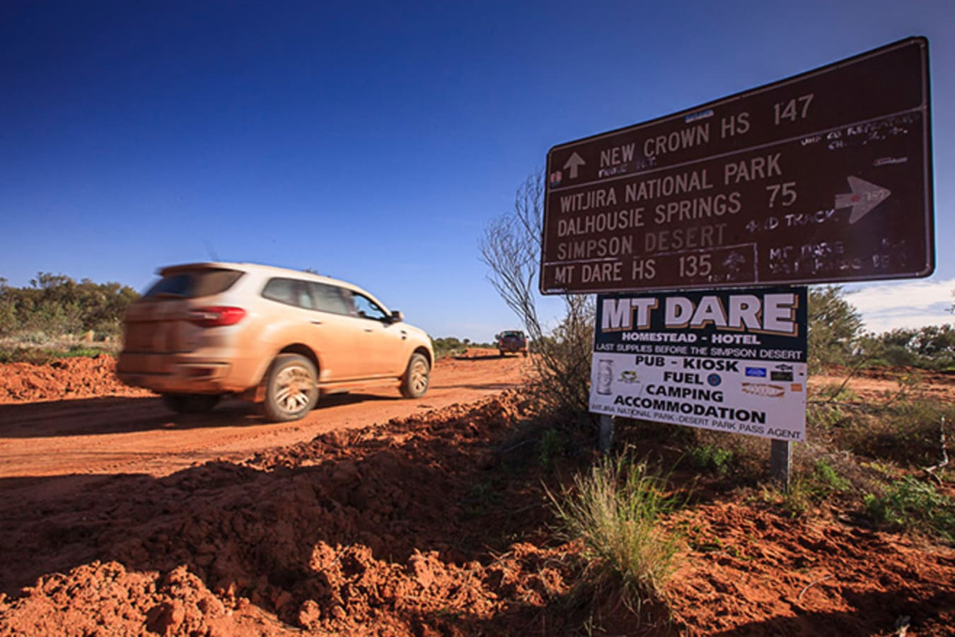 Ford Everest in Outback