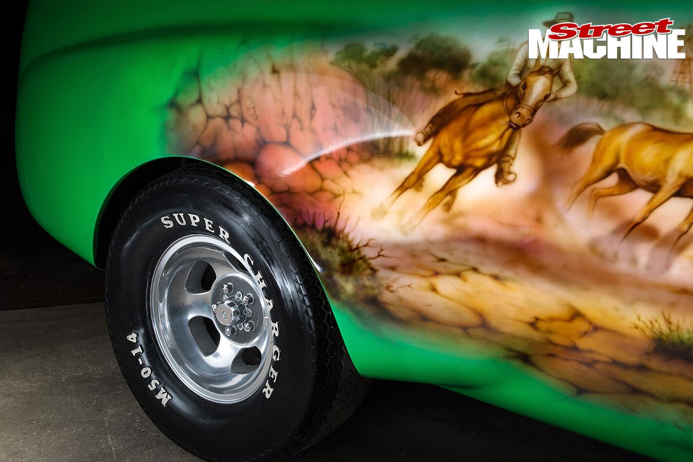 Holden -FJ-Utility -mural -side -rear
