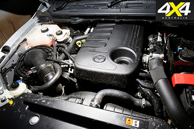 Mazda -bt 50-engine
