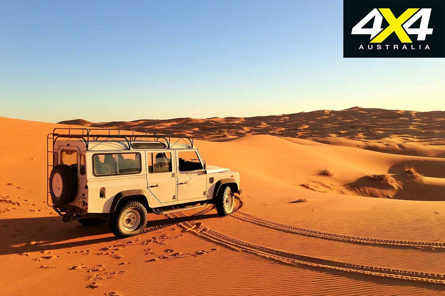 70 Years Of Land Rover Desert Jpg