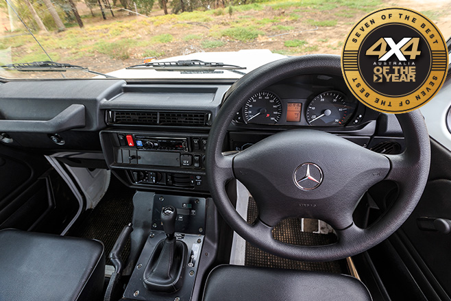 Mercedes-Benz G-Professional interior
