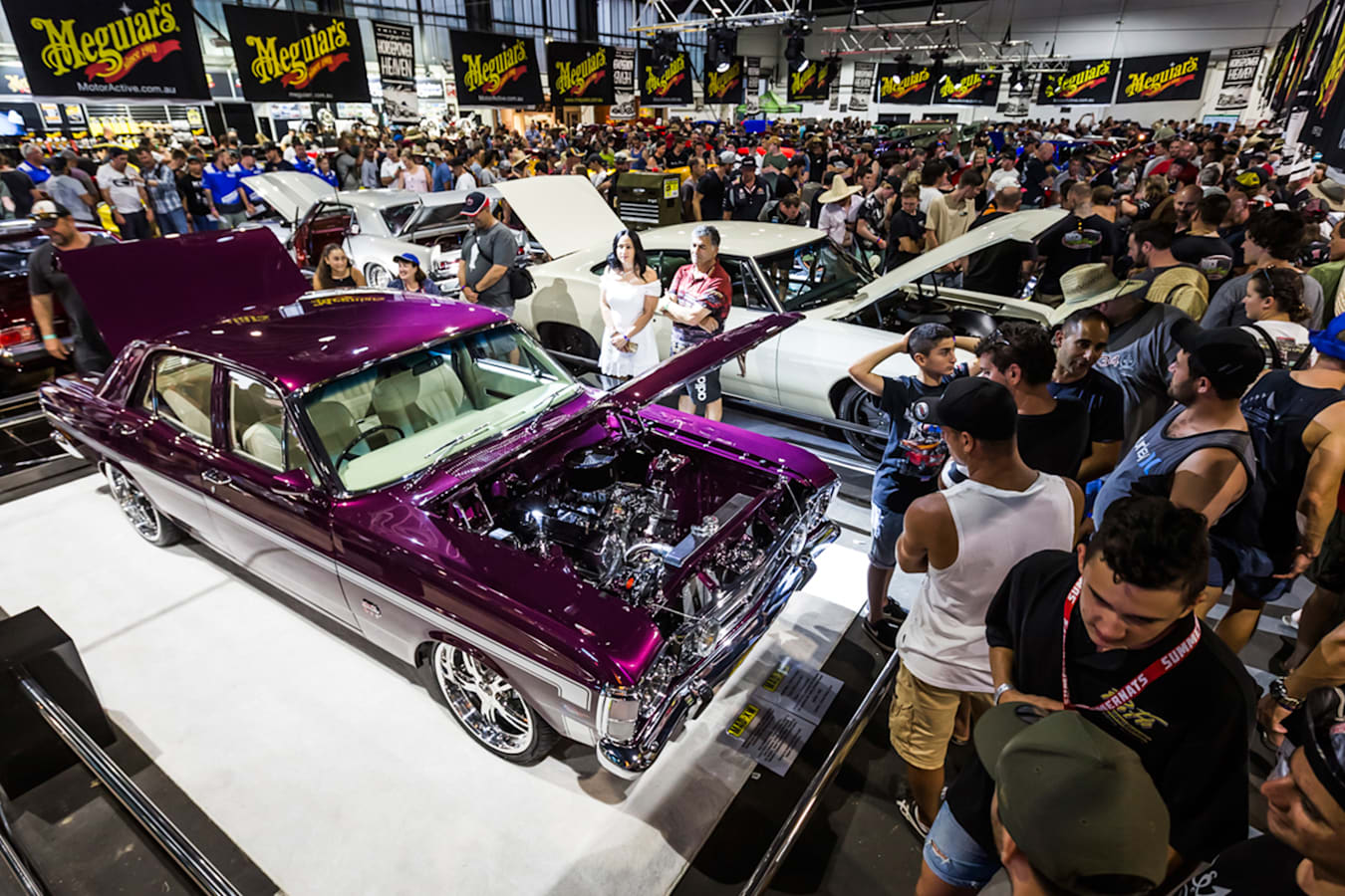 Purple Xy Falcon Reveal Unveil Summernats Jpg