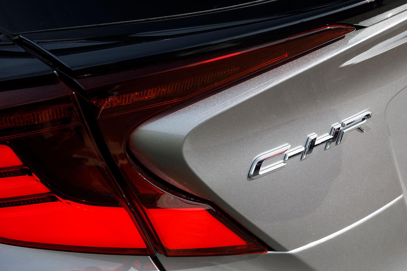 Toyota C-HR badge