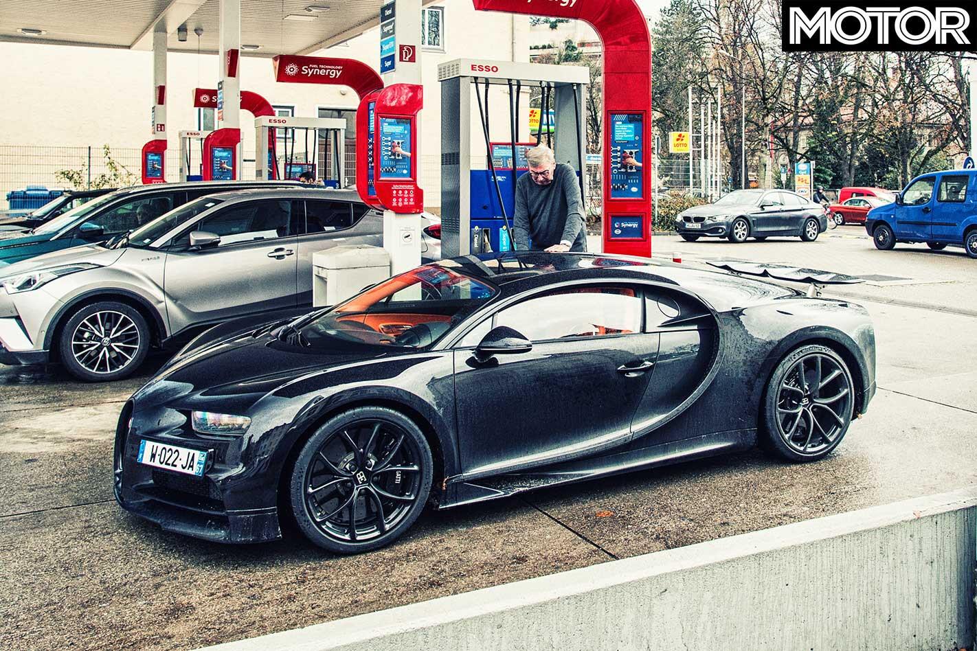 24 Hours 2019 Bugatti Chiron Refueling Jpg