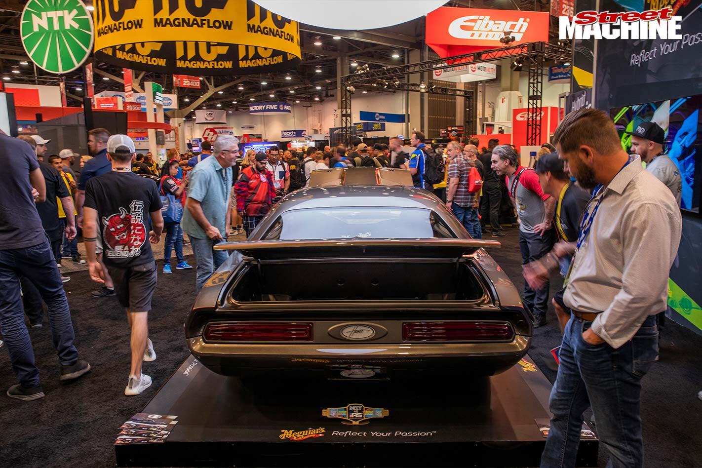 Rob Zahabi Dodge Challenger rear end