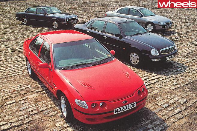 1995-Car -comparison -sedans