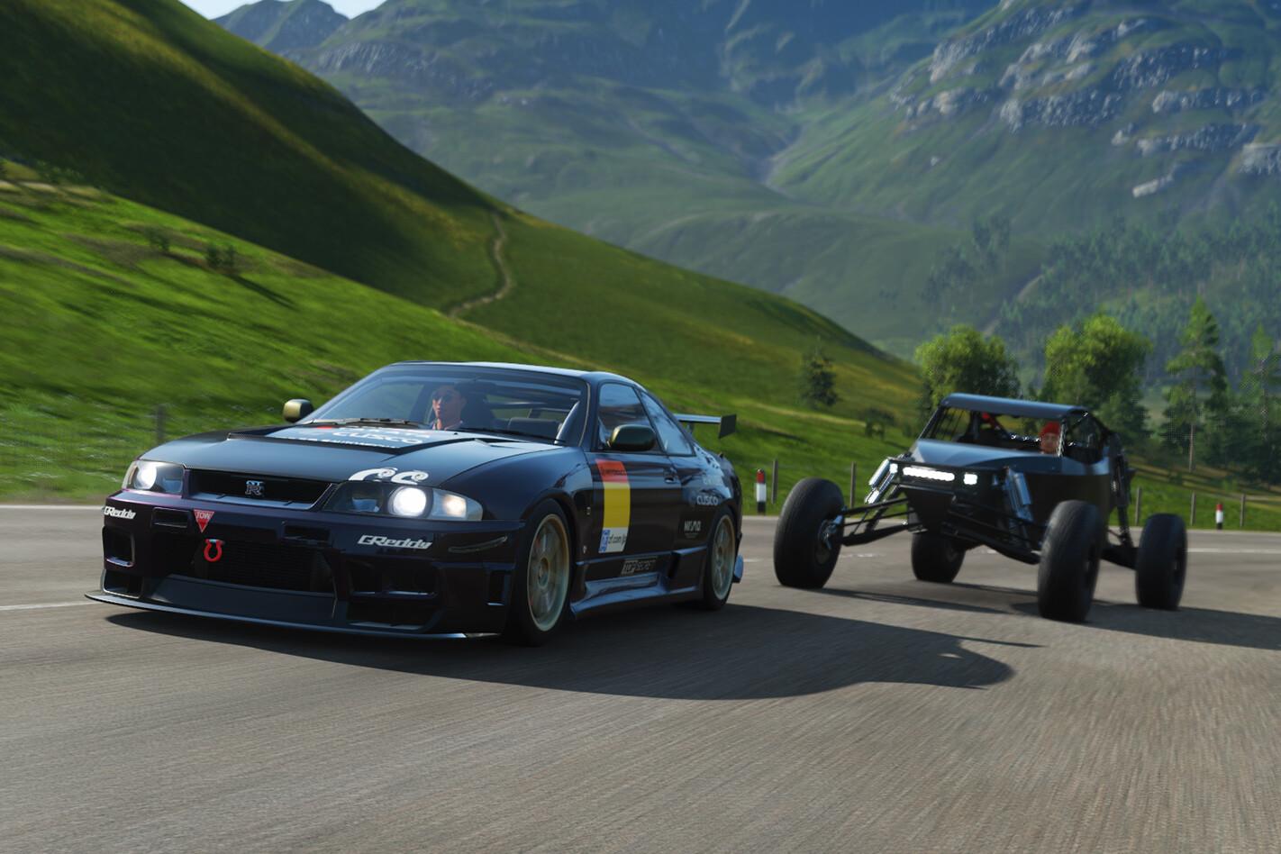 Forza Horizon 4 Nissan Skyline R33 GT-R