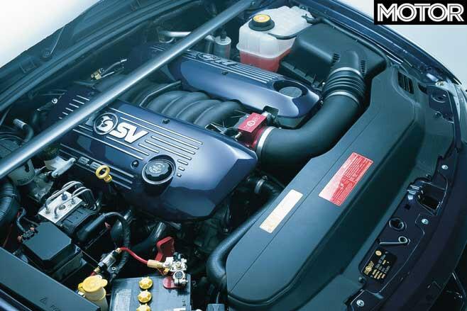 2001 HRT Edition Maloo concept engine