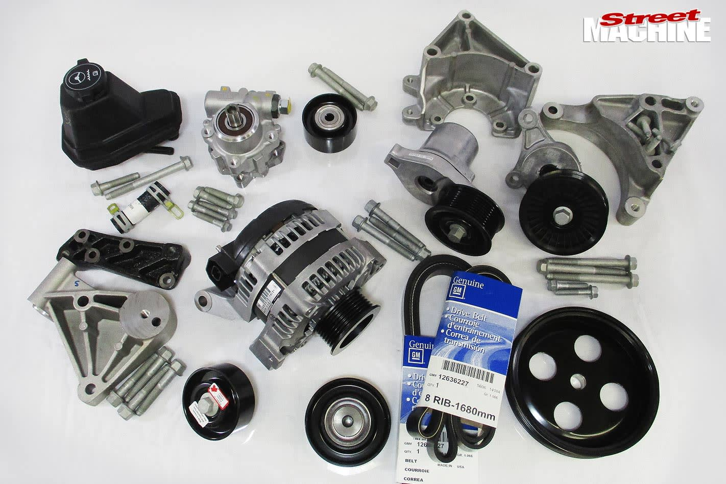 accessory drive kit
