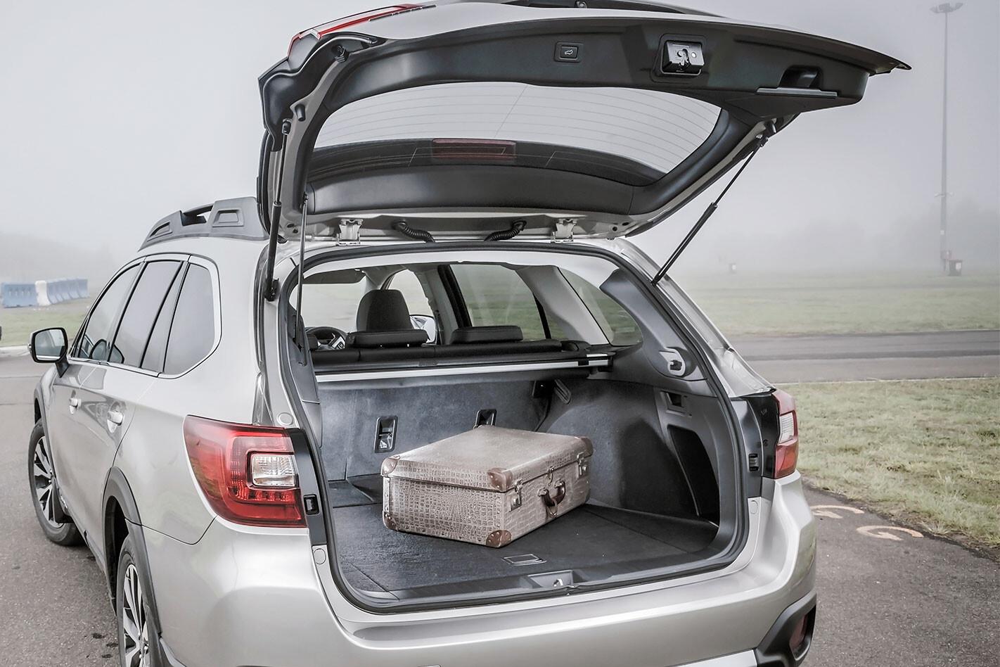 2020 Subaru Outback boot