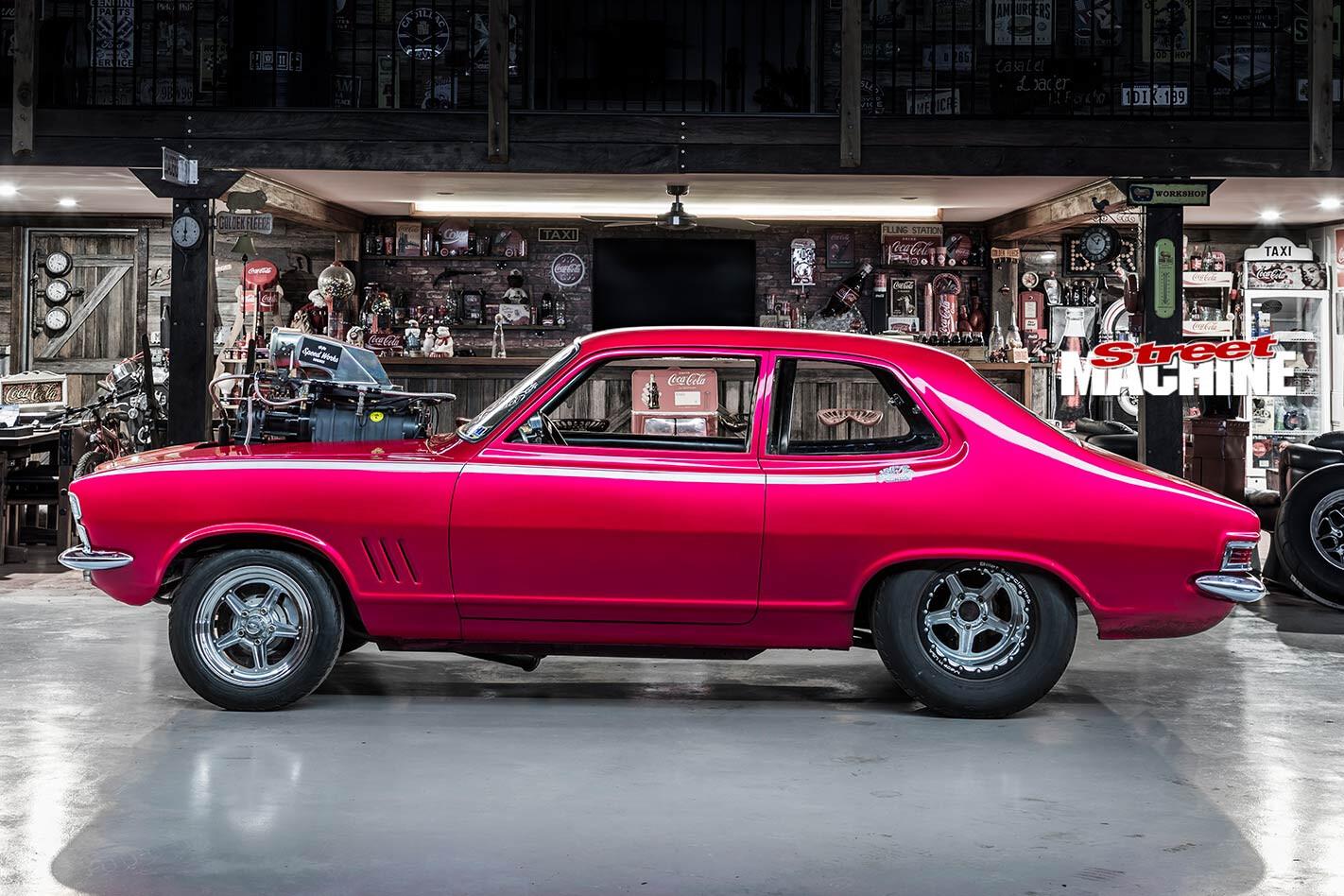 Holden LC Torana side