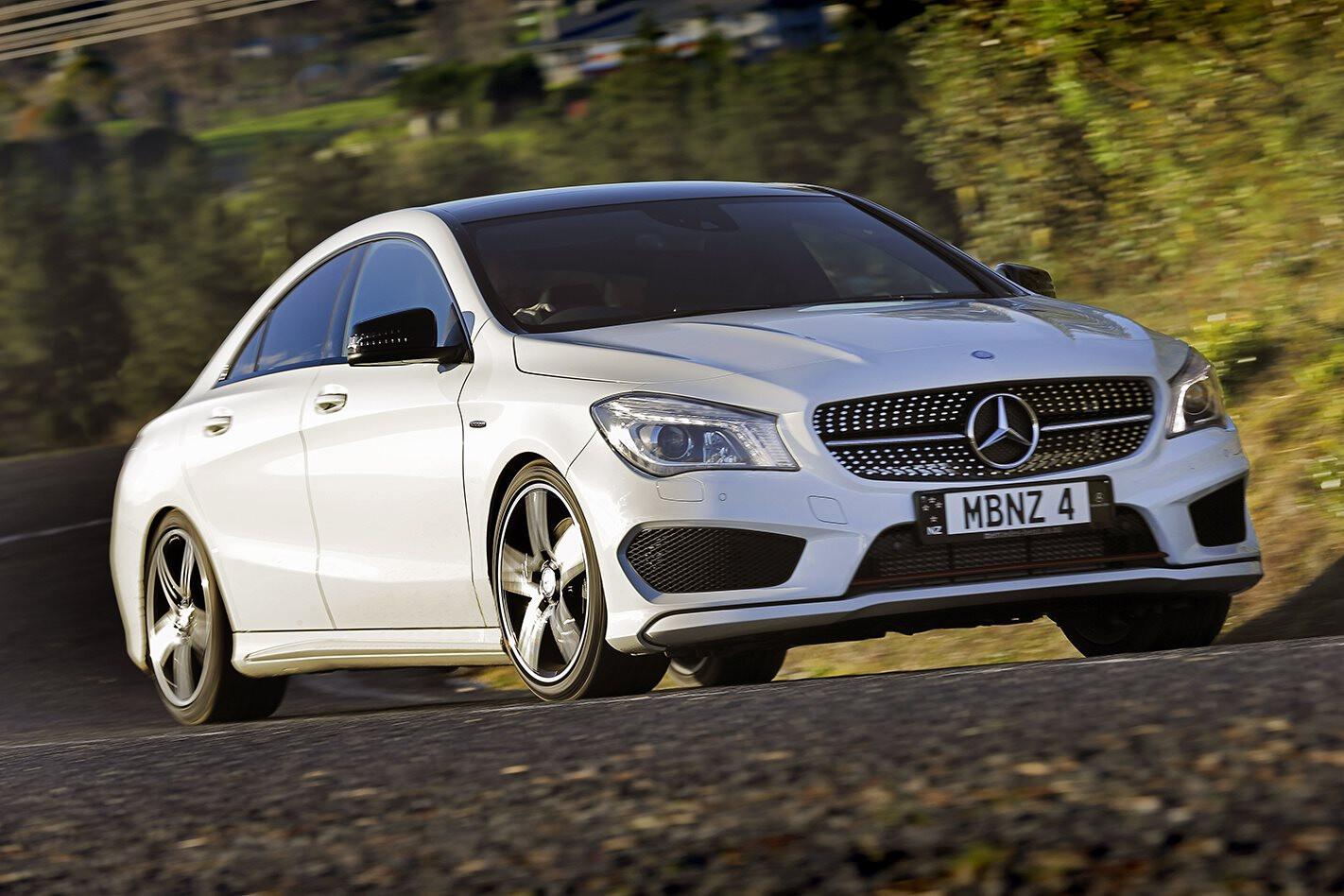 Mercedes-Benz CLA250 Sport review