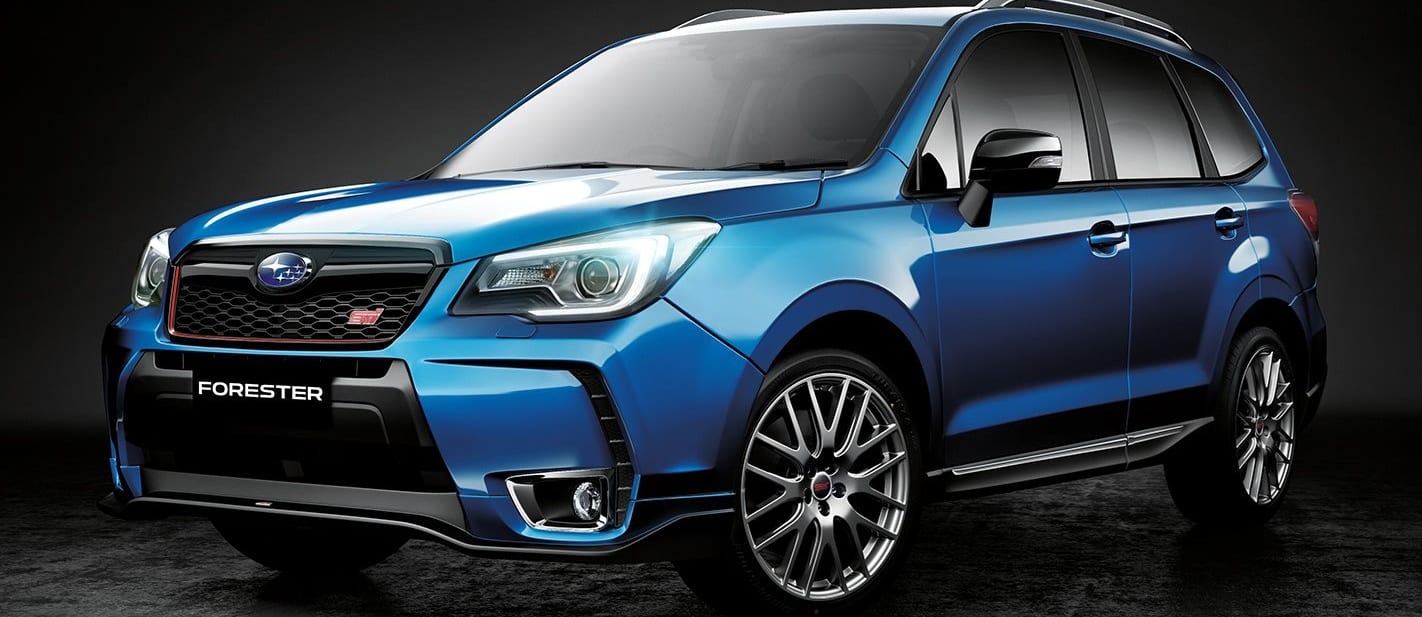 Subaru Forester Ts Front Side Jpg