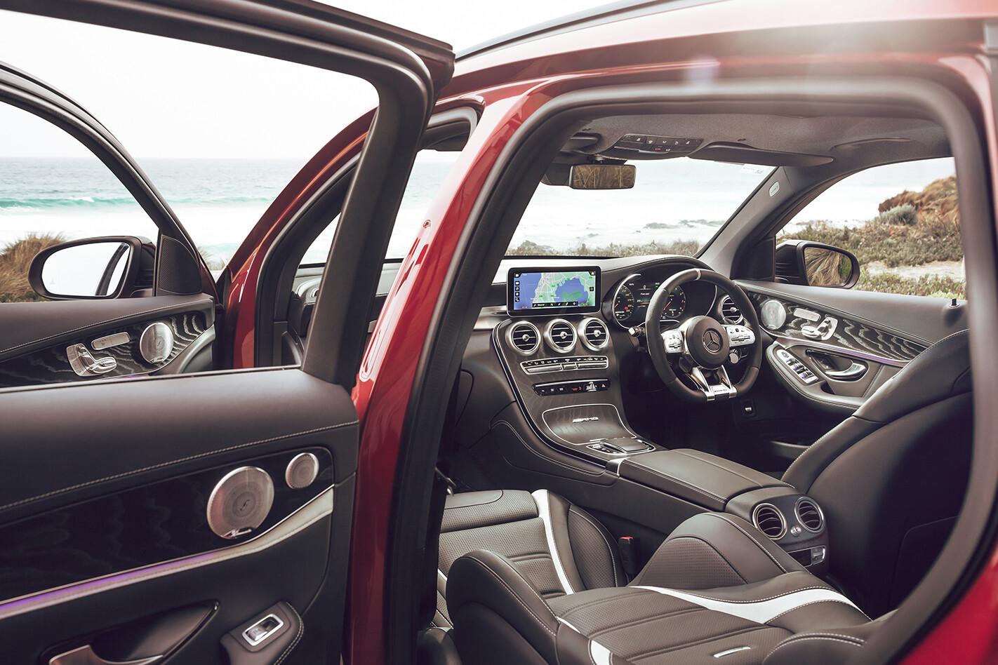 Mercedes AMG GLC 63 S Review Interior Jpg