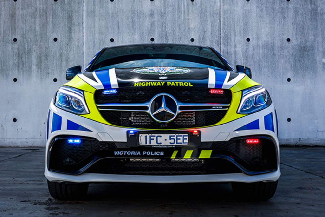 Mercedes-Benz GLE63 Victoria Police