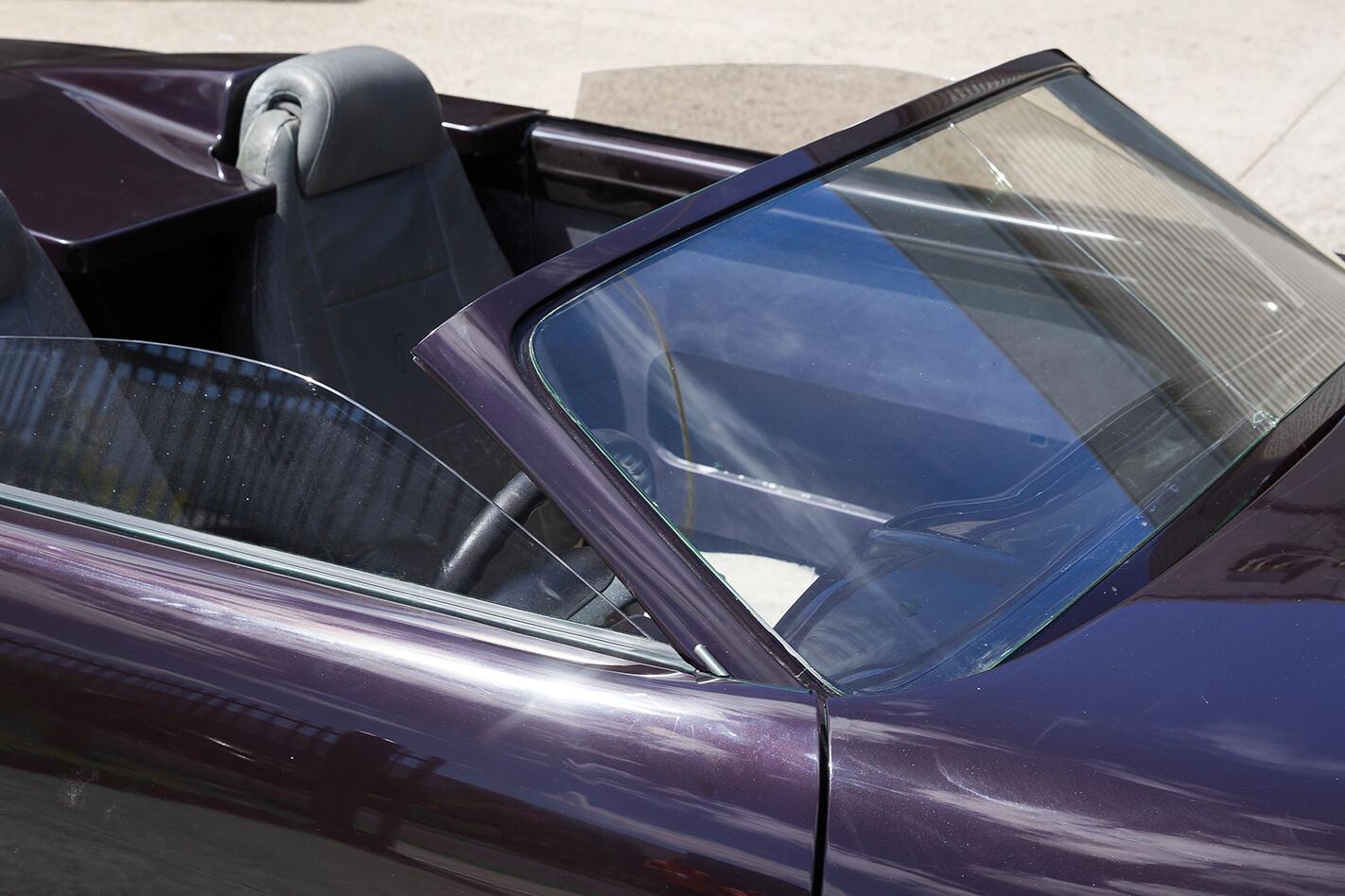 EFIJY FX windscreen