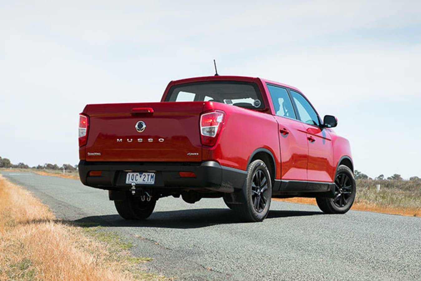 SsangYong Musso XLV Ultimate rear static