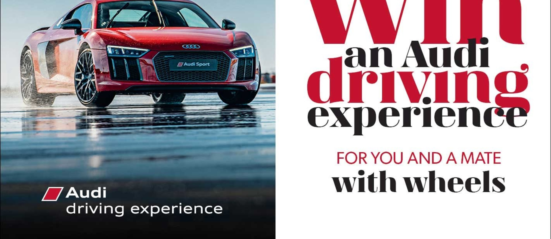 Win an Audi Driving Experience