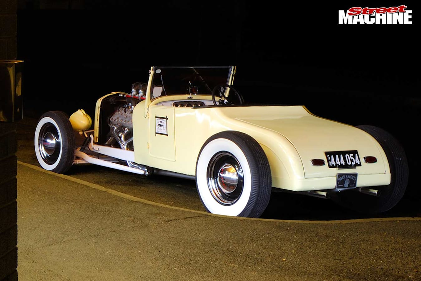 1927 Ford roadster rear