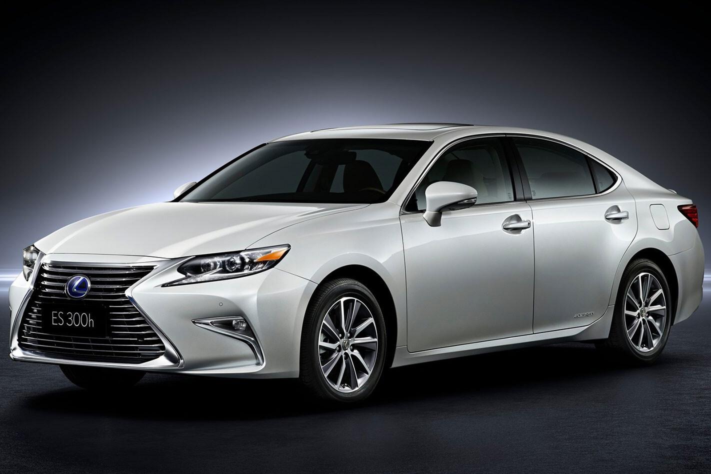 2015 Lexus ES facelift