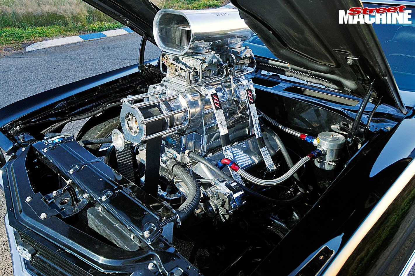 Chevelle engine bay