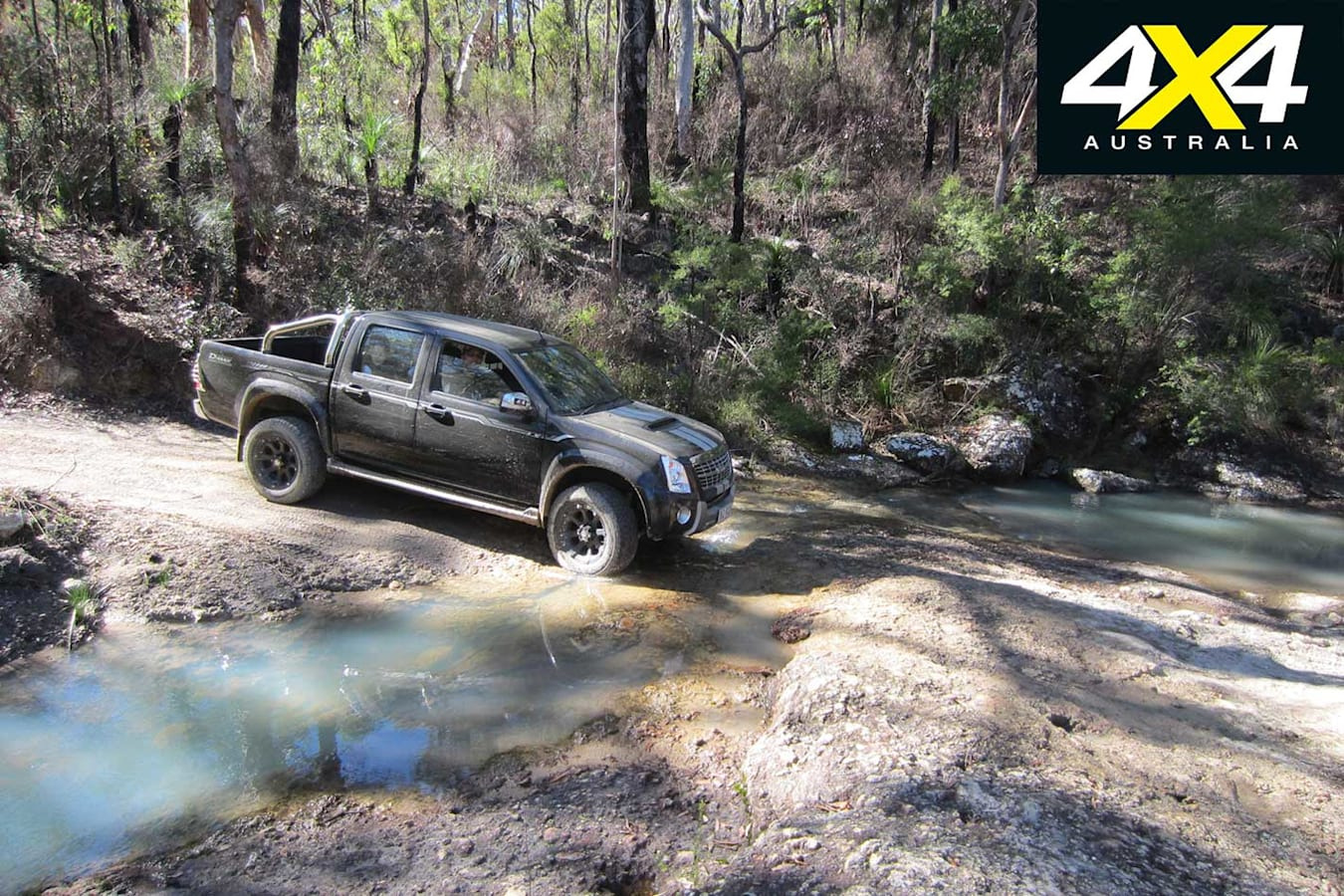 4 X 4 Trip To Daguilar National Park Qld Creek Crossing Jpg