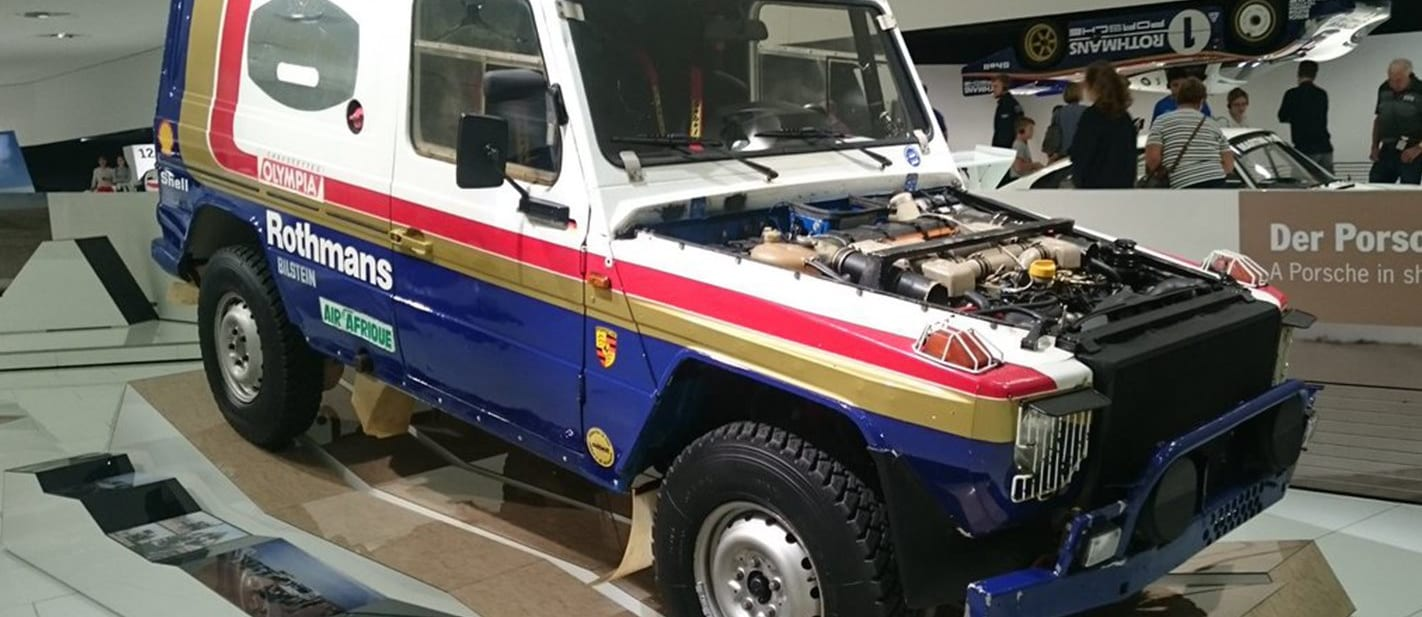 Porsche once shoehorned one of its engines into a Mercedes-Benz G-Wagen