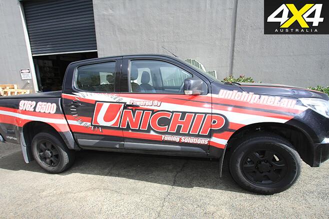 Unchip ute