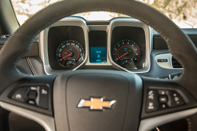 Chevrolet -camaro -interior