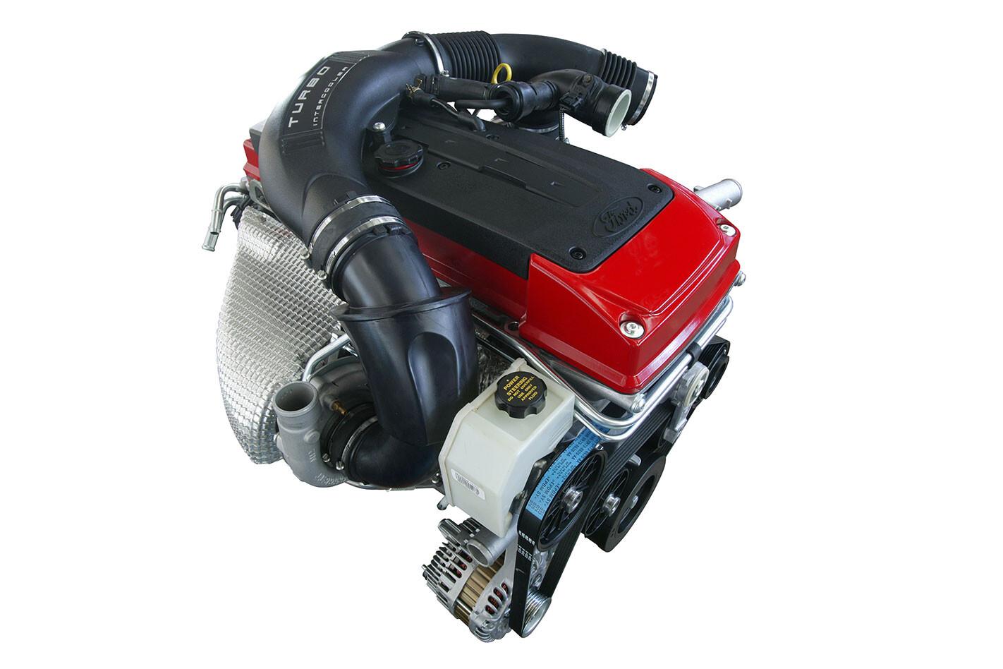 Ford -FG-Falcon -XR6-Turbo -engine