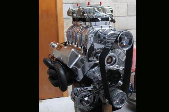 Jordan Farrar blown Holden 308 engine