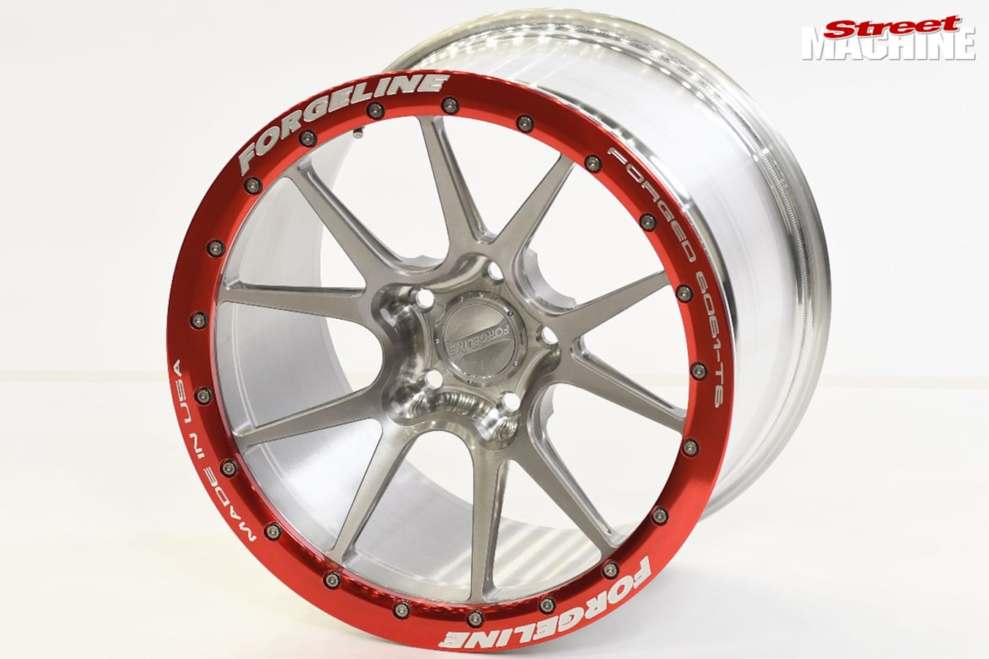 Forgeline racing wheel