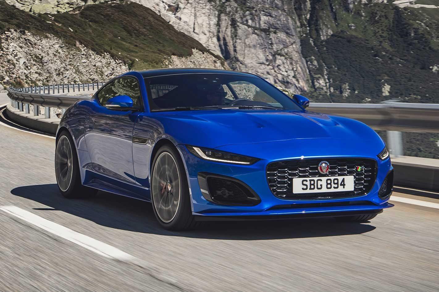 2020 Jaguar F-Type revealed