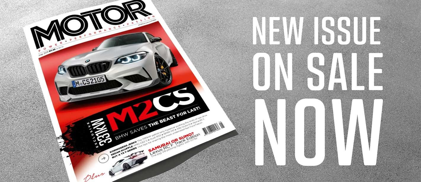 MOTOR Magazine May 2019 issue preview