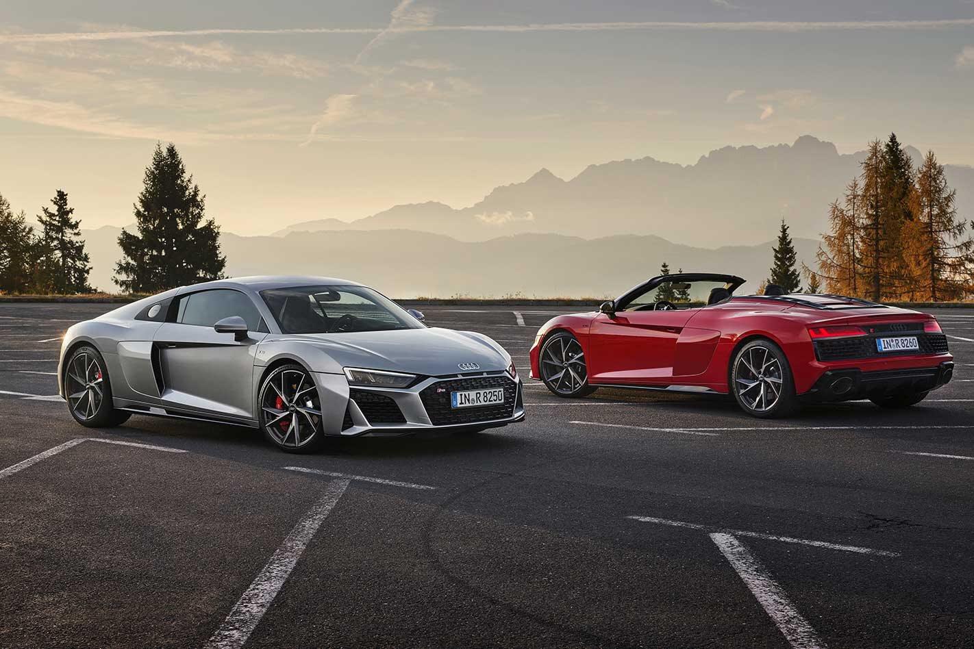 Audi R8 RWD permanent variant