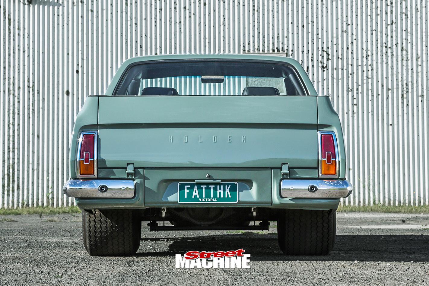 Holden HK ute rear
