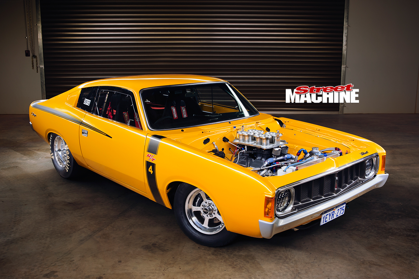 Chrysler -valiant -e 55-charger -front -angle